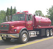 Freightliner FL112 3200 gallon tanker