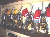 645 Rescue Van Air Packs
