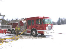 Engine 643 with folding drop tank drafting