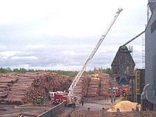 Park Falls Ladder Biewer Sawmill