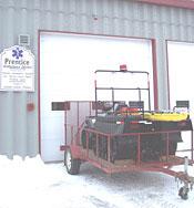 Prentice 6 wheel tracked vehicle