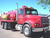 Prentice Tanker 644 with folding tank