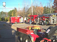 Engine 643 Rescue 645 & 6 Wheel ATV