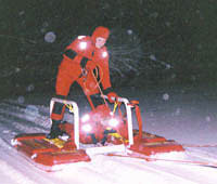 Prentice Fire & EMS Ice Rescue